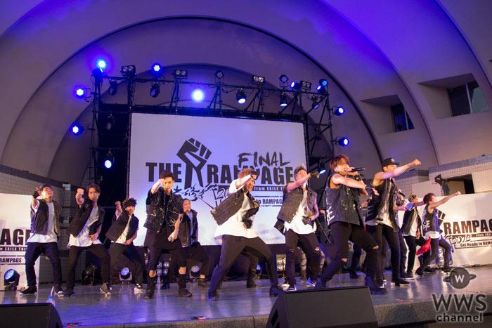THE RAMPAGEが武者修行ファイナル公演開催!THE SECONDも激励に登場し熱狂のステージ!