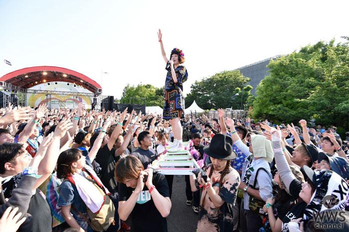 【ライブレポート】水曜日のカンパネラがメトロック初参加で仰天ステージ!