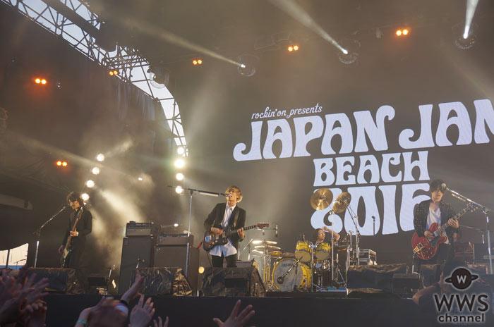 【ライブレポート】[Alexandros]が『ワタリドリ』を熱唱!咲き乱れる最強ロックバンドがJAPAN JAM BEACH 2016に登場!