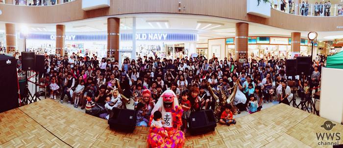 サイコ・ル・シェイムがショッピングモールイベントで子ども達に笑顔を!