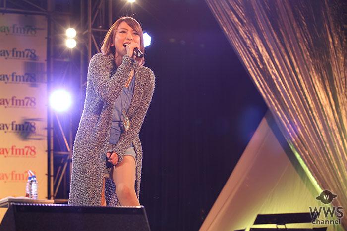 藍井エイルがbayfmフリマパラダイスに出演!渾身のライブパフォーマンスで『アクセンティア』を披露!