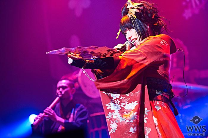 和楽器バンドが全国ツアーの東京公演でアメリカ西海岸ツアー開催を発表!