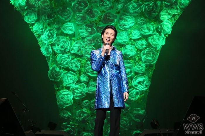 昨年、念願の紅白歌合戦に初出場した山内惠介が自己最多ツアー初日を東京で開催!5度目のセルフプロデュース公演で22曲を熱唱!