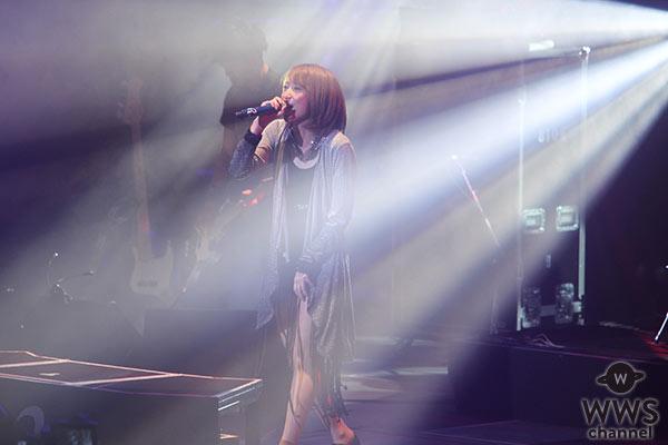 【ライブレポート】藍井エイルが筑波大学 イノフェスで圧巻のライブパフォーマンス!『アクセンティア』など全7曲を披露!