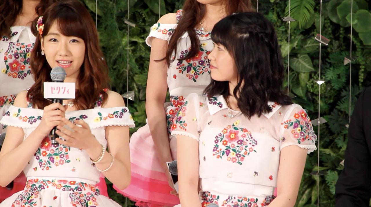 【動画】AKB48 総選挙タイアップ曲が決定!横山由依 柏木由紀らがゼクシィCM会見に登場!