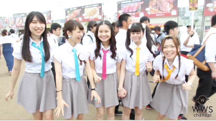 【動画】お台場・肉フェスにハイパーモチベーションが登場!