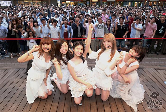 【ライブレポート】9nineがラクーアでリリースイベント開催で2000人を動員!川島海荷「5人でベストアルバムを残せたことがとても嬉しい」