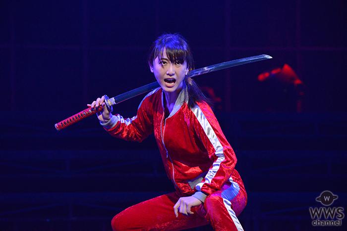元SKE48松井玲奈の主演舞台公開!「殺陣がキレキレで早い。松井以外ではやりたくない」