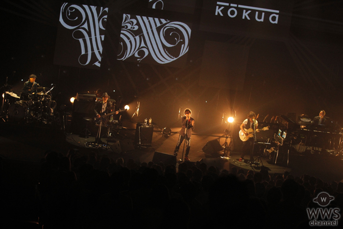 kōkuaが1stアルバム『Progress』を引っ提げての初の東名阪福ホールツアー「kōkua TOUR 2016「Progress」をスタート!