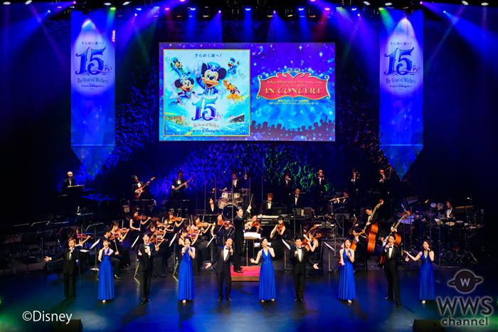 東京ディズニーシーの15周年記念コンサートツアーがスタート!ラストは客席総立ちでパフォーマーとオーディエンスが一体化!