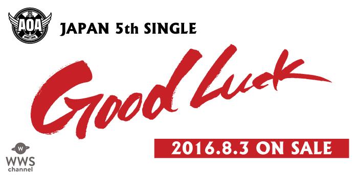 西川貴教(T.M.Revolution)とのコラボで話題を呼んだAOAがニュー・シングルを8/3にリリース決定!