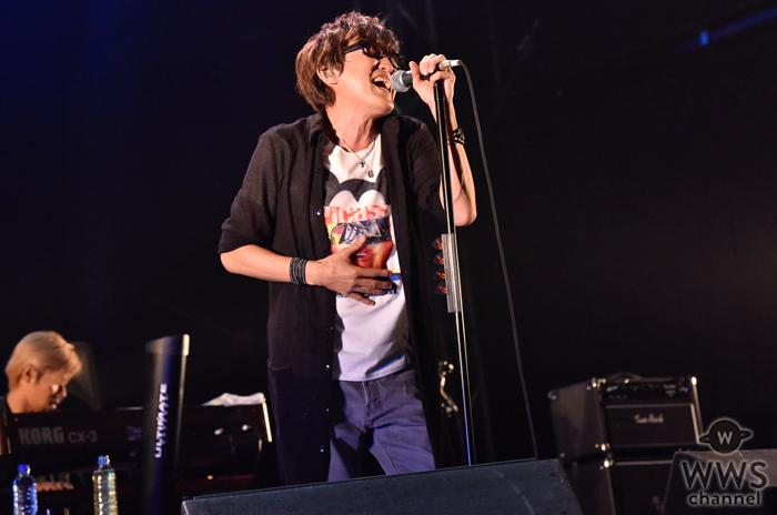 【ライブレポート】スガシカオがVIVA LA ROCK2016で熱量の高いパフォーマンス披露。さらに驚きの発表も!