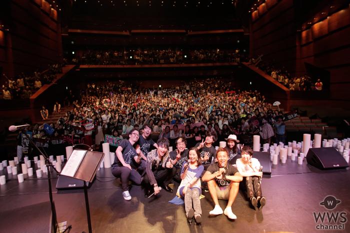 【ライブレポート】GAKU-MCが『アカリトライブ 2016』を家入レオ、SKY-HIと共に開催!