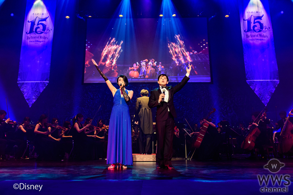 東京ディズニーシー®の15周年記念コンサートツアーがスタート!ラストは客席総立ちでパフォーマーとオーディエンスが一体化!