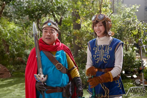 【コメント掲載】本田翼が「星のドラゴンクエスト」 新CMで出川哲朗と共演!「出川さんの後ろ姿が本物の勇者に見えました」