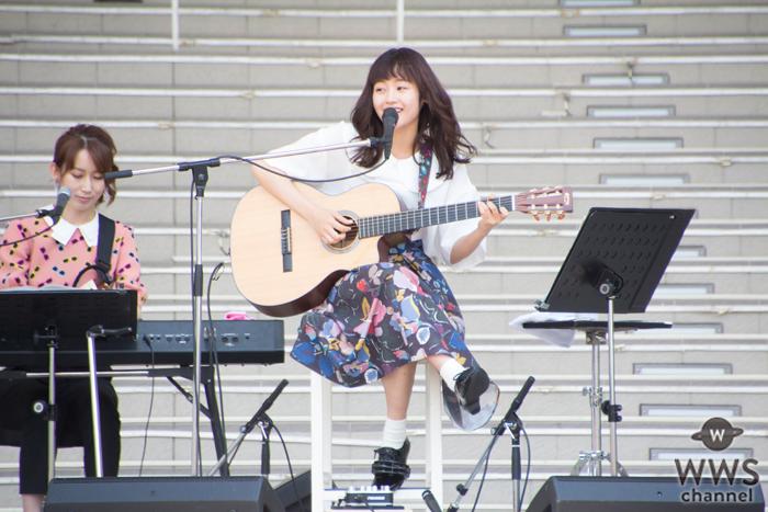 藤原さくらが1stシングル『Soup』リリース記念に初のフリーライブツアーをお台場からスタート!
