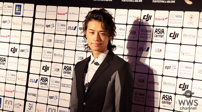【動画】ショートショート フィルムフェスティバル & アジアに俳優・斎藤工が登場!