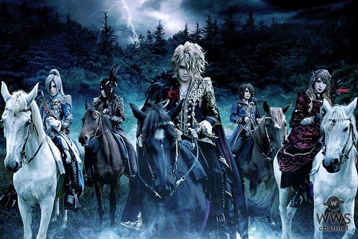 Versailles、Zepp Diver Cityでの大熱狂のプレミアム・ショーケースライブにてベストアルバム発売を発表!