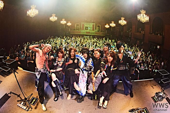 和楽器バンドが初のアメリカ西海岸ツアーを開催!「Wagakki」が世界共通言語に!