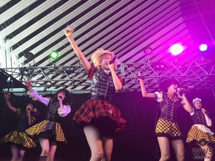 ベイビーレイズJAPANがhideの夏フェスで『アイドル』と『ロック』の垣根を超えた灼熱パフォーマンス!