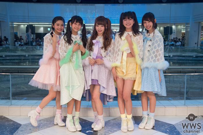 元・アイドリング!!!の佐藤麗奈がリーダーを務めるマジカル・パンチラインがメジャーデビュー記念イベントで涙!