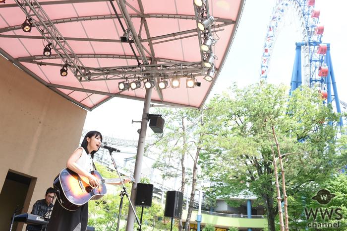 新山詩織がダブルAサイドシングル『あたしはあたしのままで/恋の中』リリース記念の東名阪フリーライブを大盛況の中 終演!