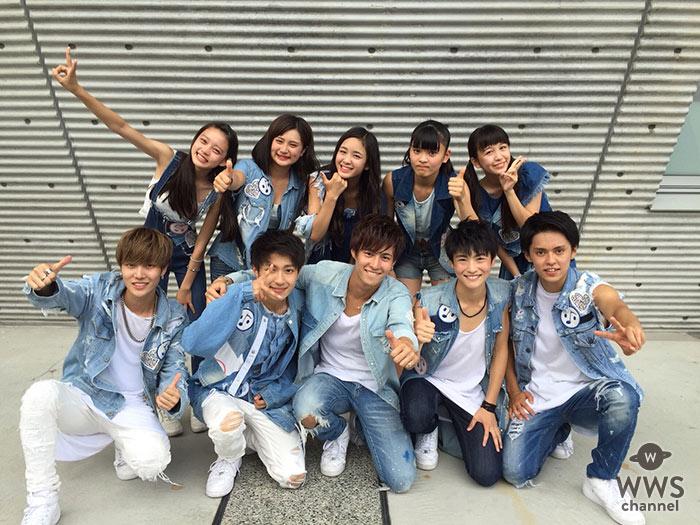 AAAライブ会場で路上パフォーマンス !男女混合10人組ユニット・α-X's(アクロス)も最終日!