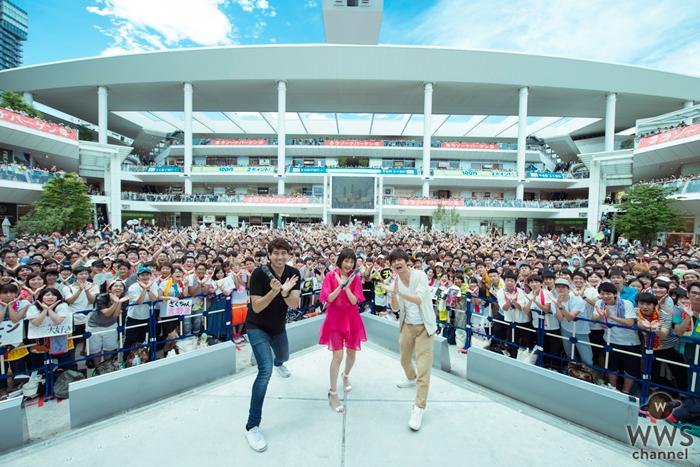 大原櫻子が3,000人のファンへ新曲『サイン』をサプライズ歌唱!「皆さんに新曲を届けられて本当に良かった」