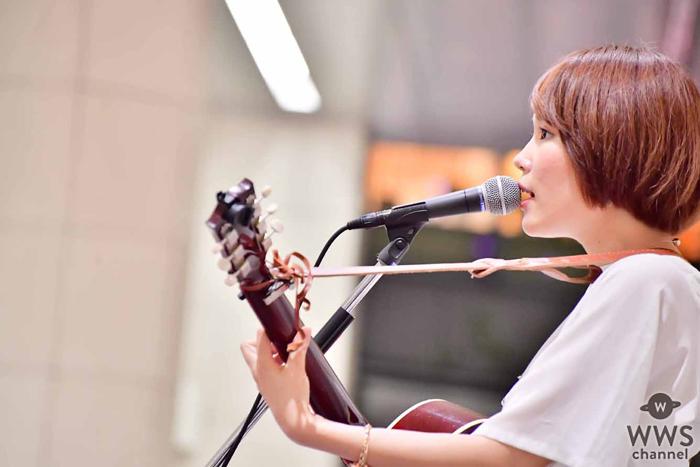 丸本莉子の1年に及ぶフリーライブツアーがスタート!8/24発売の新曲『ガーベラの空』を初披露!