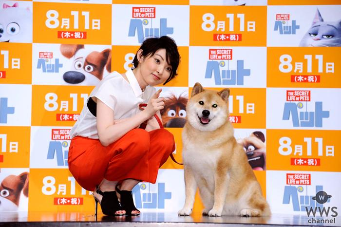 家入レオが柴犬まるちゃんと共演!映画『ペット』イメージソング『Brand New Tomorrow』を初披露!