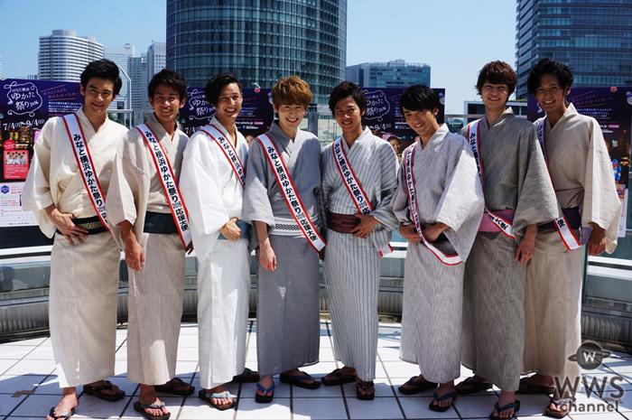 SOLIDEMOが「みなと横浜 ゆかた祭り応援大使」に就任!「浴衣を着て夏を一緒に楽しみたいです」