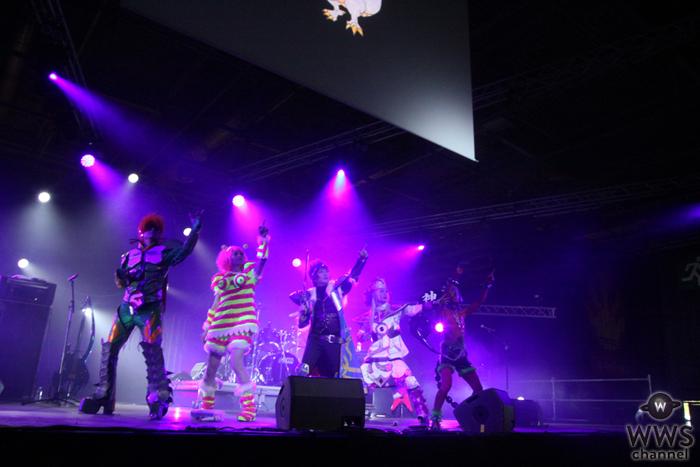 フランスでも大盛況!サイコ・ル・シェイムがJAPAN EXPO 2016で得意のRPG世界観のライブを開催!