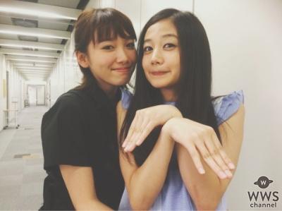 飯豊まりえが清水富美加とのスーパー可愛い仲良しツーショット写真を公開!