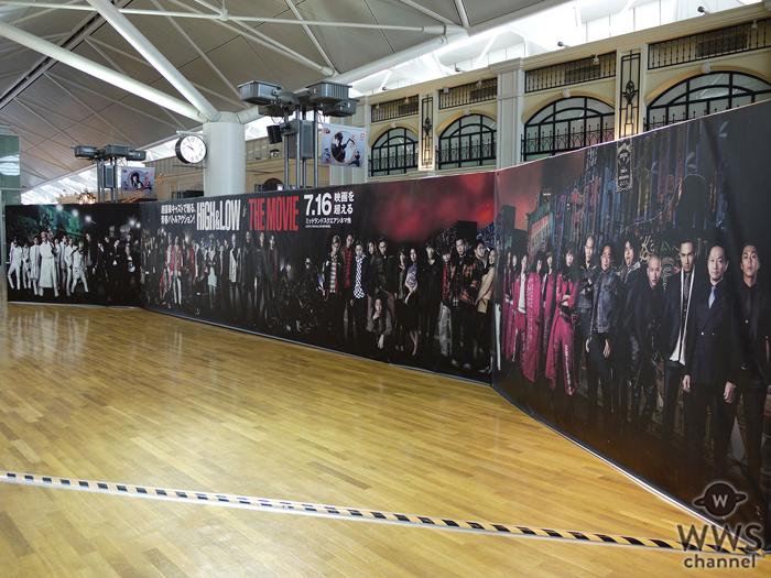 EXILE、三代目JSB他 豪華出演陣62人の巨大パネルが中部国際空港に登場!