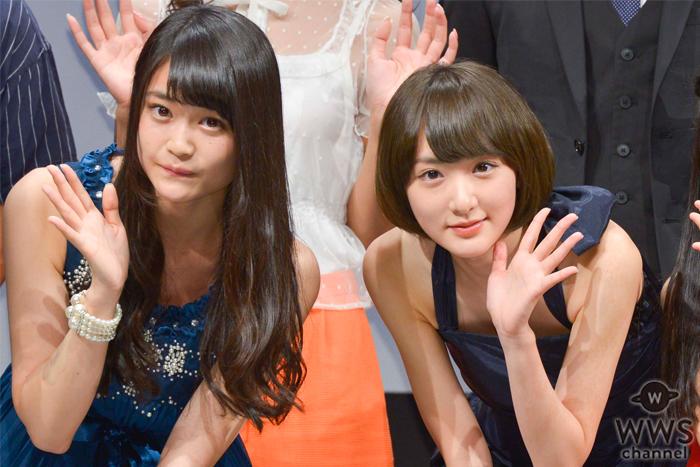 欅坂46の石森虹花が乃木坂46の生駒里奈を絶賛!「憧れの存在で共演できるなんてすごく贅沢」