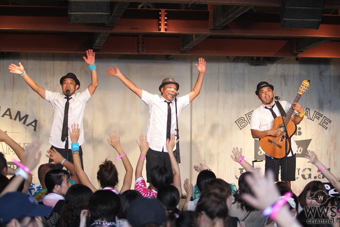 【ライブレポート】水着ギャルも大興奮!石垣島出身ユニット・きいやま商店が鎌倉の海を盛り上げる!