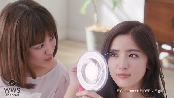 E-girlsの藤井萩花・夏恋の共演CM第2弾は全てアドリブの演技で姉妹の自然体を表現した演出!