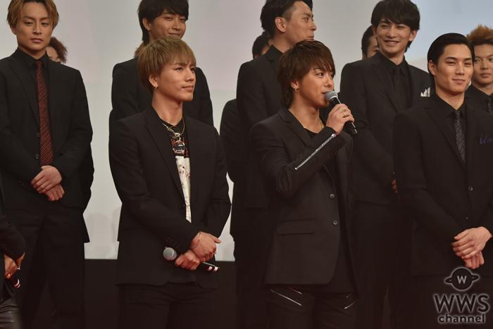 「女好きを演じるのは難しい(笑)」EXILE TAKAHIROが『HiGH&LOW THE MOVIE』完成披露イベントに登場!