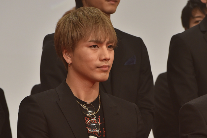三代目JSB 登坂広臣が『HiGH&LOW THE MOVIE』完成披露イベントに登場!「普段のTAKAHIROさんという感じで素直に弟役を演じられた」