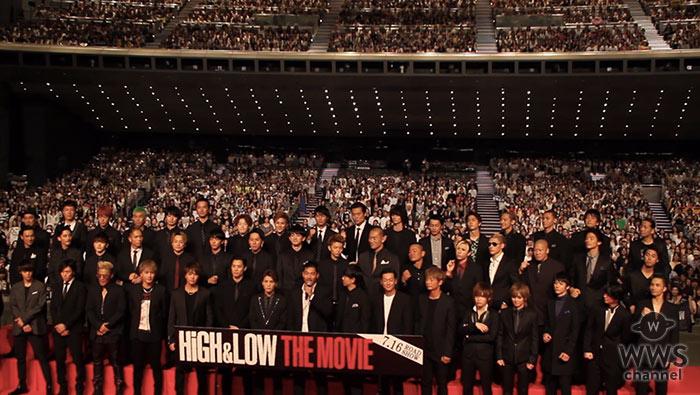 【動画】EXILE AKIRA TAKAHIROらが『HiGH&LOW THE MOVIE』イベントに登壇!