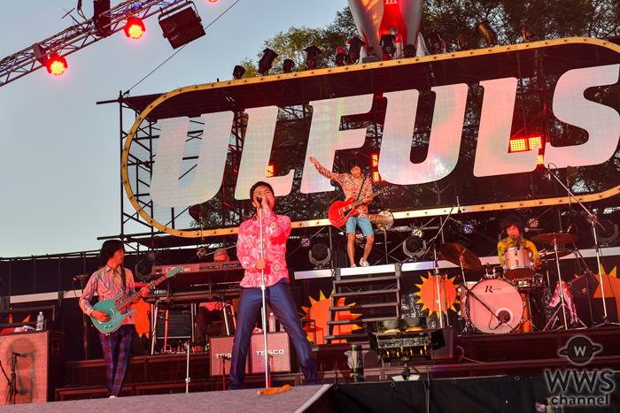 ウルフルズがリリースから20年『バンザイ~好きでよかった~』を大阪・万博公園に集まった約16,000人と大合唱!新曲も披露!