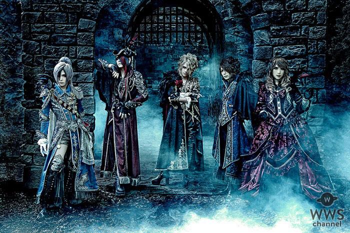 Versaillesが VISUAL JAPAN SUMMITに出演決定 !渋谷マルイにてコラボイベント「ヴェルサイユ宮殿~玉座の間~」の開催も発表!