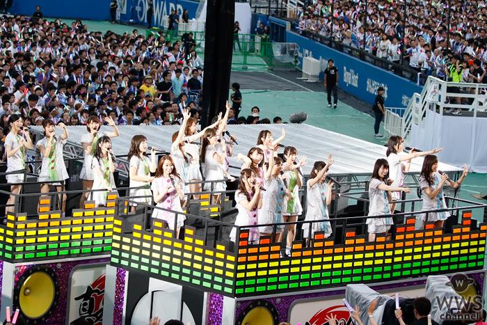 乃木坂46自身初となる明治神宮野球場3DAYSの初日が終了!全44曲を3万5千人に披露!