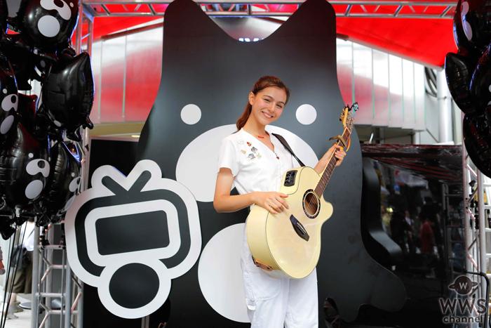 セレイナ・アンがSHIBUYA 109前にサプライズ登場&ライブ!「たくさんハッピーパワーをお届けしたいとおもいます!」