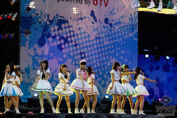 【写真特集】メンバーが新たに5人加入した新生SUPER☆GiRLSが、a-nation stadium fesをカラフルに彩る!