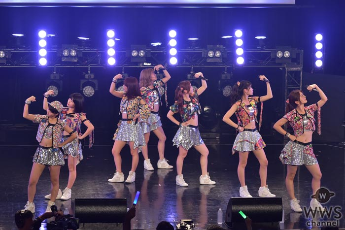 アップアップガールズ(仮)がTIF2016初日にパワー全開!熱いステージを披露!
