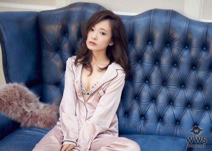 ざわちんも絶賛!モデル西川瑞希がセクシーすぎるルームウェアから覗くランジェリー姿を披露!!