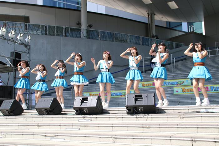 愛乙女☆DOLLがTIF2016 2日目のFESTIVAL STAGEに登場!新体制で熱いライブを作り上げる!