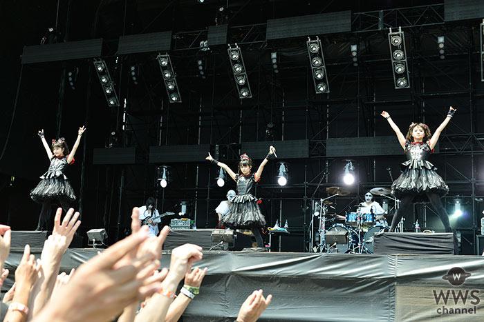 世界的に人気のロックバンド・BABYMETALがROCK IN JAPAN FESTIVAL 2016に登場!