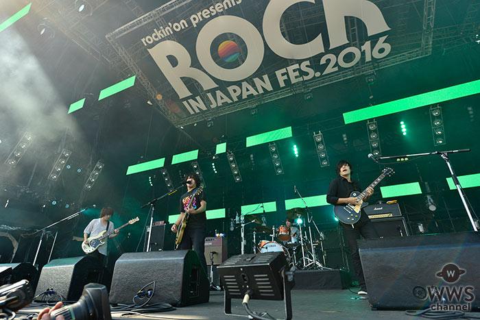 人気のロックバンド・KANA-BOONがROCK IN JAPAN FESTIVAL 2016に登場!